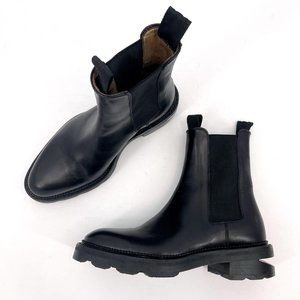 Alexander Wang Andy Black Leather Pull On Boots